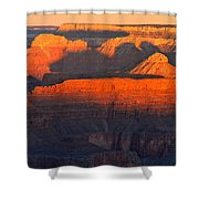 Mather Point Sunrise Grand Canyon National Park Shower Curtain