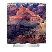 Mather Point Twilight Shower Curtain