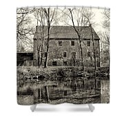 Mather's Grist Mill Shower Curtain