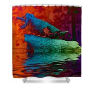 Mating Call Shower Curtain