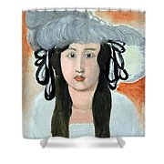 Matisse's The Plumed Hat Shower Curtain