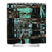 Matrix 1 Shower Curtain