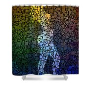 Matrix Girl Shower Curtain