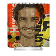 Mats Hummels Shower Curtain by Corporate Art Task Force