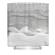 Matte And Lustre Shower Curtain