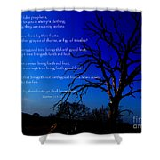 Matthew 7 15-20 Shower Curtain