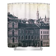Matthias Church And Vizivaros Shower Curtain
