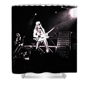 Matthias Jabs Scorpions Shower Curtain