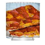 Matza Pizza Shower Curtain