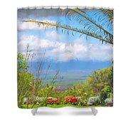 Maui Botanical Garden Shower Curtain