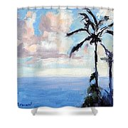 Maui Palms Shower Curtain