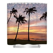 Maui Sunrise Shower Curtain