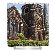 Maui Worship Place Shower Curtain