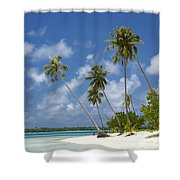 Maupiti Lagoon Shower Curtain