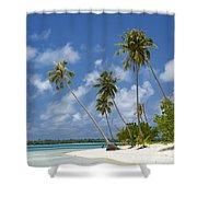 Maupiti Lagoon Shower Curtain