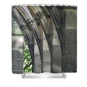 Mausoleum Arches Shower Curtain