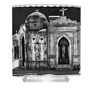 Mausoleums 2 Shower Curtain