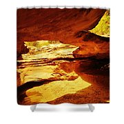 Maverick Natural Bridge Shower Curtain