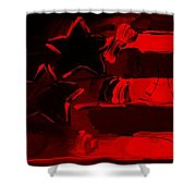 Max Americana In Red Shower Curtain