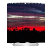 Max Patch Sunset Shower Curtain