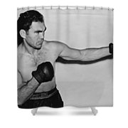Max Schmeling 1938 Shower Curtain by Mountain Dreams
