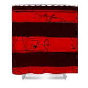 Max Woman In Red Shower Curtain
