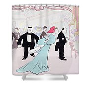 Maxims Shower Curtain by Sem