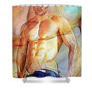 Maximum Color Shower Curtain