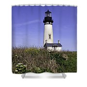 May At The Lighthouse Shower Curtain
