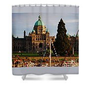 May Day In Victoria Shower Curtain