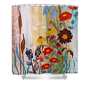 May Melody Shower Curtain