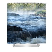 May Morning On The Pawcatuck Shower Curtain