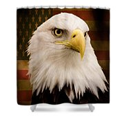 May Your Heart Soar Like An Eagle Shower Curtain by Jordan Blackstone