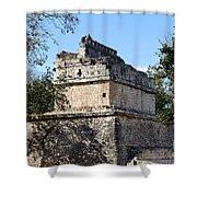 Mayan Ruin At Chichen Itza Shower Curtain