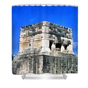 Mayan Ruins Shower Curtain