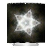 Mayan Star Shower Curtain