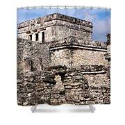 Mayan Tulum Shower Curtain