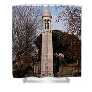 Mayflower Memorial Southampton England Shower Curtain