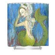 Mazzy The Mermaid Princess Shower Curtain