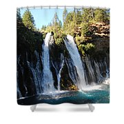 Mcarthur-burney Falls 1 Shower Curtain