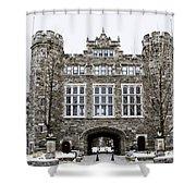 Mcbride Gateway - Bryn Mawr College Shower Curtain