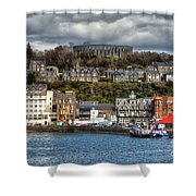 Mccaig's Tower At Oban Shower Curtain