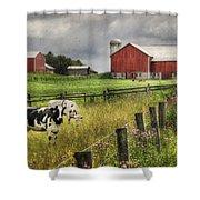 Mcclure Farm Shower Curtain