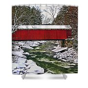 Mcconnells Covered Bridge Shower Curtain