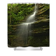 Mcconnells Mill Alpha Falls Shower Curtain