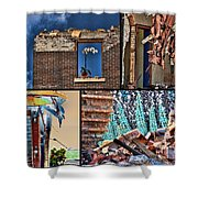 Mcdaid Collage Shower Curtain