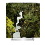 Mcdonald Creek Cateracts Shower Curtain