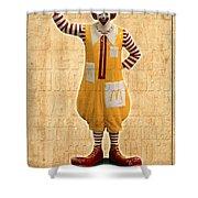 Mcdonald's Shower Curtain