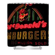 Mcdonalds Sign Shower Curtain
