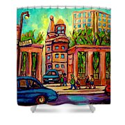 Mcgill University Roddick Gates Montreal Shower Curtain
